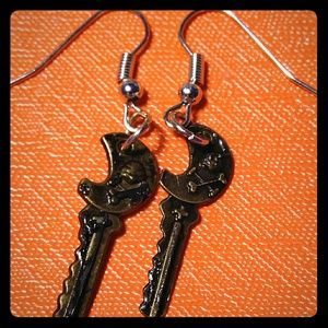 Skelton Key Earrings